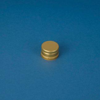Kapsel 28 mm guld Pilfer-proof aluminium