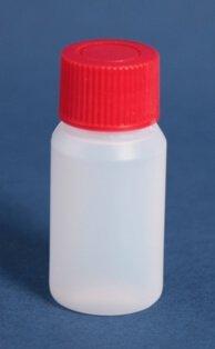 Flaske 25 mm naturel 22 mm HDPE