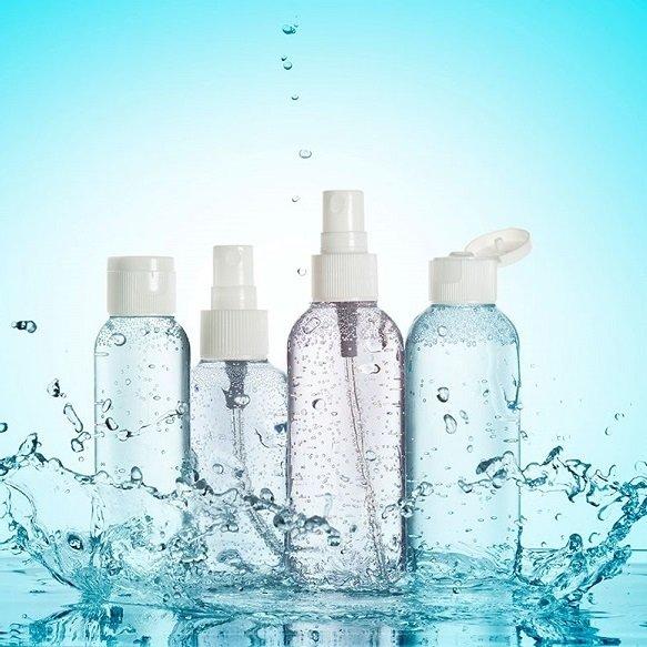 Kosmetikemballage og pumper til håndsprit