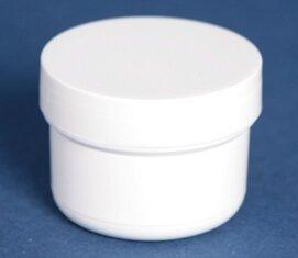 Dåse 40 ml hvid 46 mm