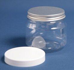 Dåse 250 ml klar m skulder/70 mm /PET