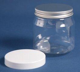 Dåse 300 ml klar / 70 mm /PET