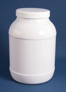 Dåse 3 l. hvid / 100 mm /PET
