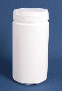 Tabletdåse 1250 ml hvid /95 mm