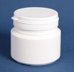 Tabletdåse 100 ml hvid/60 mm