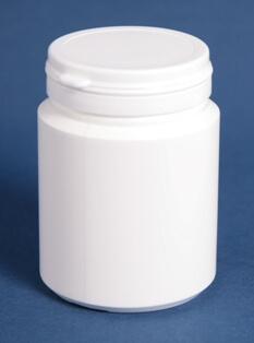 Tabletdåse 200 ml hvid /60 mm