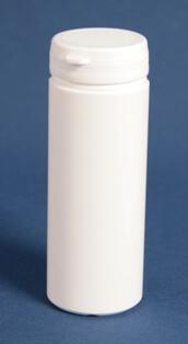 Tabletdåse 150ml hvid/60mm