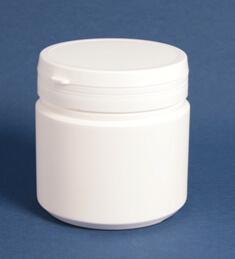 Tabletdåse 500 ml hvid/ 95 mm