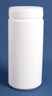 Tabletdåse 1500 ml hvid / 95 mm