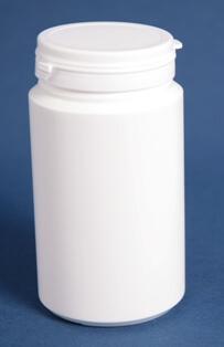 Tabletdåse 300 ml hvid / 60 mm