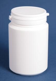 Tabletdåse 250 ml hvid/60 mm