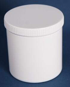 Dåse 1000 ml /hvid 111 mm