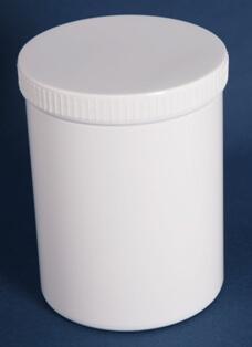 Dåse 1250 ml hvid / 111 mm