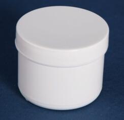 Dåse 100 ml hvid /56 mm