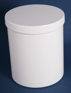 Dåse 2000 ml hvid / 131 mm