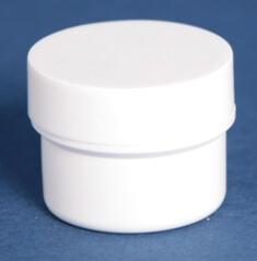 Dåse 20 ml hvid / 36 mm