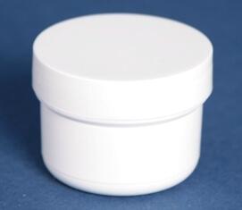 Dåse 40 ml hvid / 46 mm