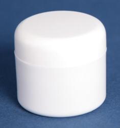 Cremekrukke 20 ml hvid /38 mm