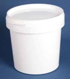 Bøtte 1180 ml hvid /133 mm