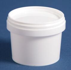 Bæger 120 ml hvid / 69 mm