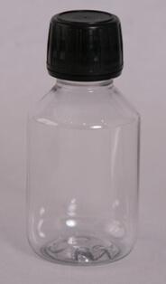 Flaske 100 ml klar /28 mm/PET