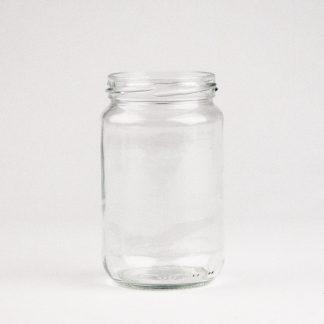 Konservesglas 370ml klar / 66mm