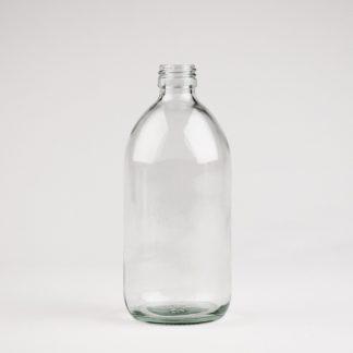 Flaske 500ml klar sirup 28mm
