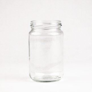 Konservesglas 720ml klar 82mm