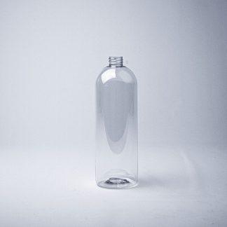 Flaske 1 l. klar Boston tall/28mmPET | 979 stk.
