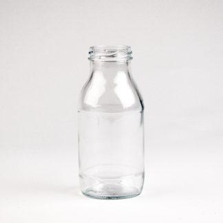 Glasflaske 250ml klar / 43mm