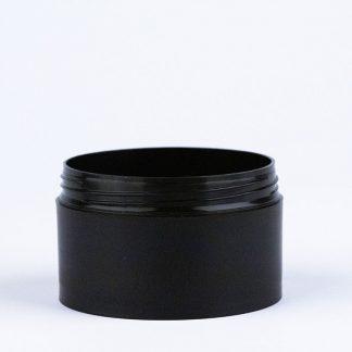 Krukke 100ml mat sort / 68mm