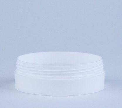 Krukke 100ml mat hvid / 90mm
