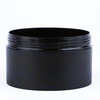 Krukke 200ml sort mat / 90mm