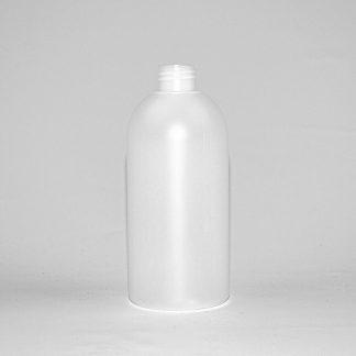 Flaske naturel 500 ml / 28mm rHDPE